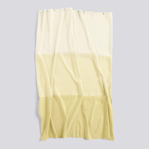 Shower curtain aquarelle buttercup horizontal