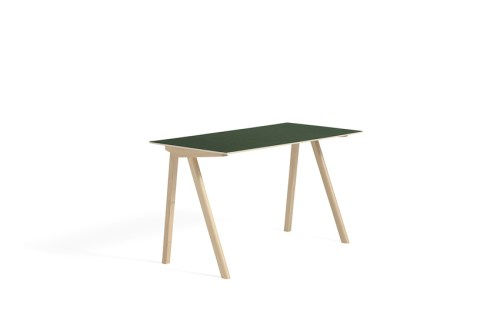 Hay CPH 90 Desk Green Linoleum Matt Lacquered