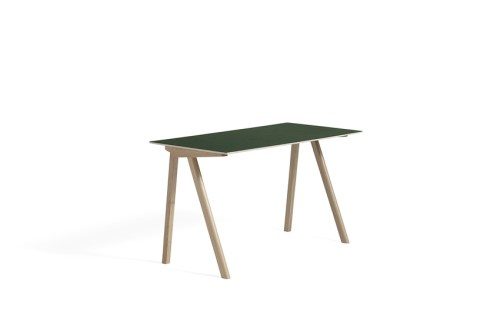 Hay CPH 90 Desk Green Linoleum Soaped