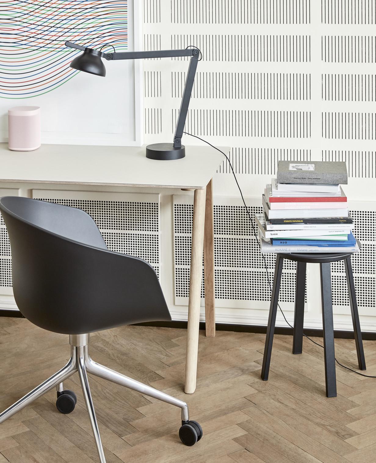 Hay CPH 90 Desk Off White Linoleum Matt Lacquered