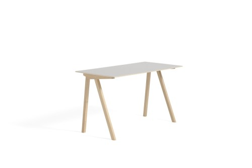 Hay CPH 90 Desk Off White Linoleum Matt Lacquered