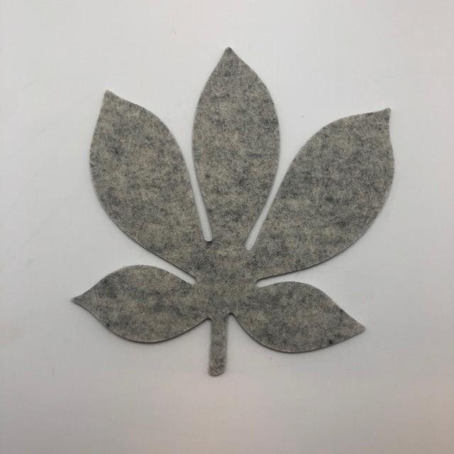 Onderzetter blad chestnut marble 06