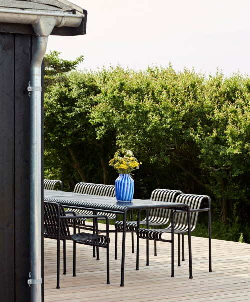 Hay Palissade Table Large Anthracite