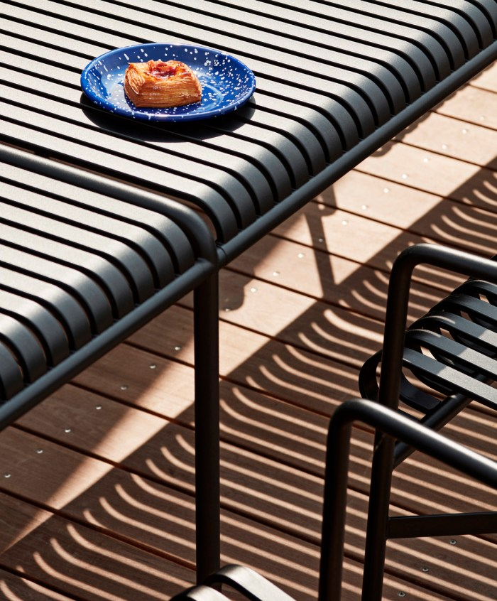 Hay Palissade Table Middle Leg Hot Galvanised