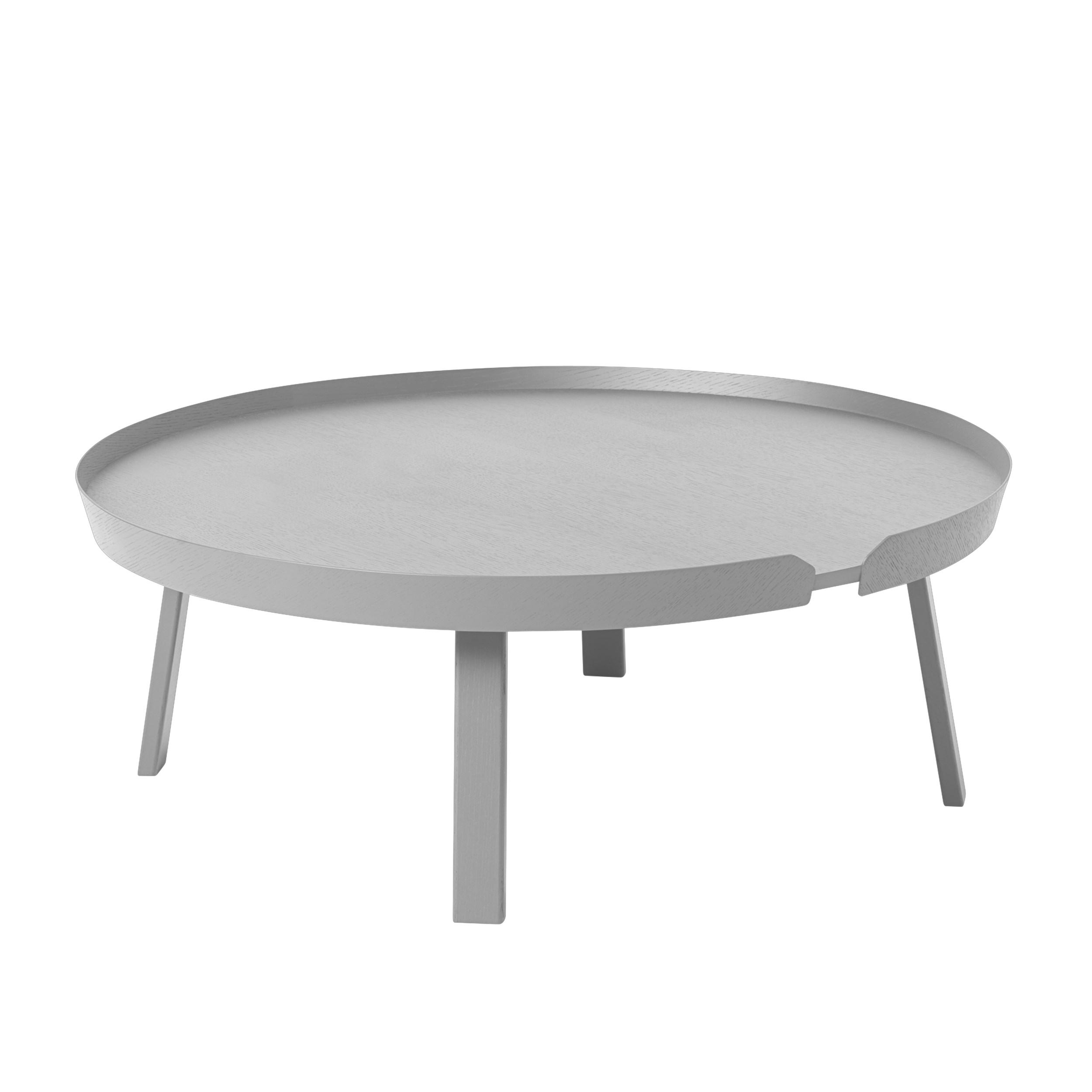 Around coffee table extra large grey