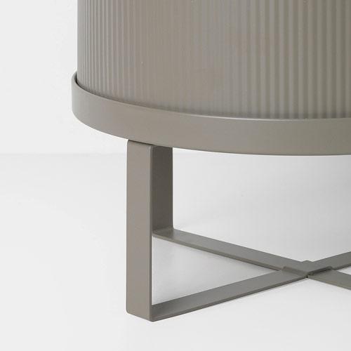Ferm Living Bau Pot Small Warm Grey