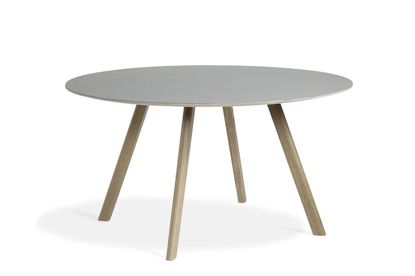 Hay CPH25 Table Round 140 Off-white Lino/Soaped
