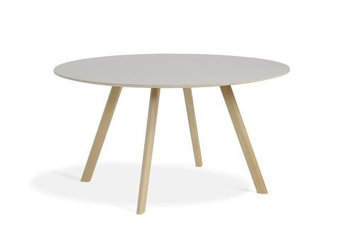 Hay CPH25 Table Round 140 Off-white Linoleum/Matt