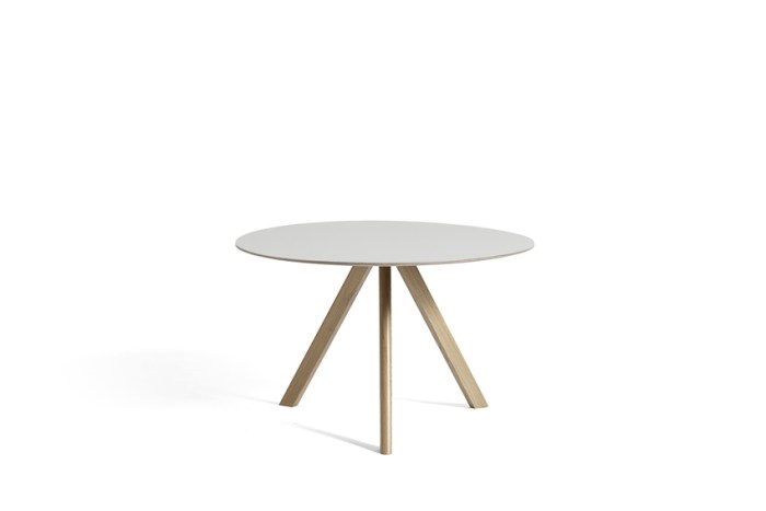 Hay CPH 20 Table Round 120 Off-white/Soaped