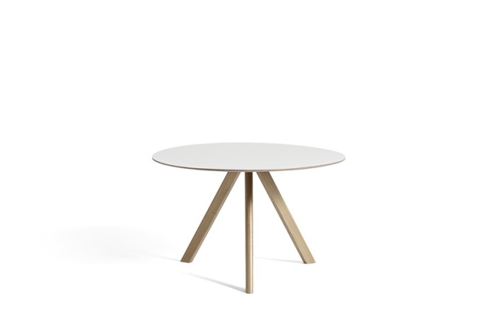 Hay CPH 20 Table Round 120 White Laminate/Soaped