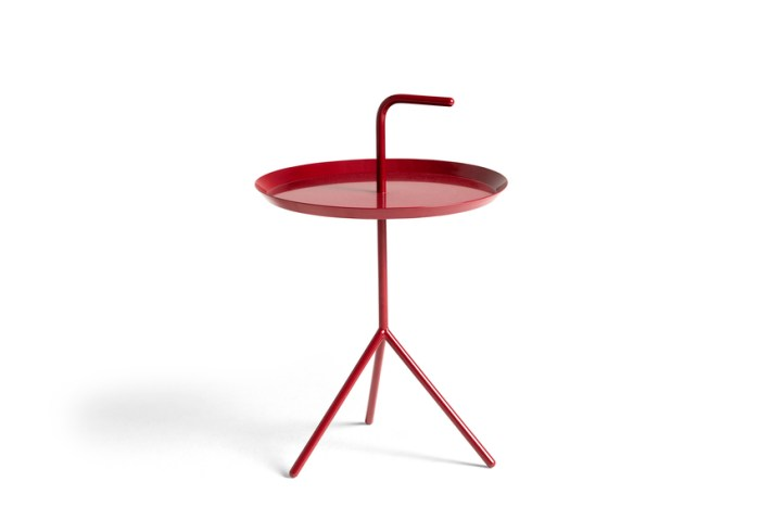 Hay DLM Side Table Cherry Red High Gloss