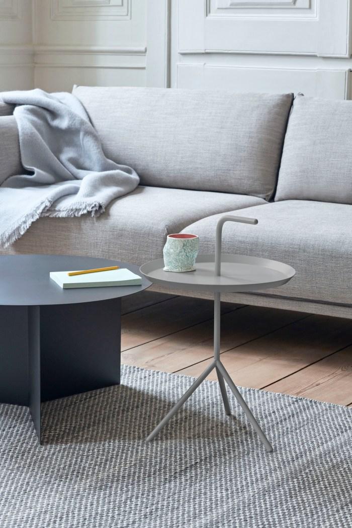 Hay DLM Side Table Grey