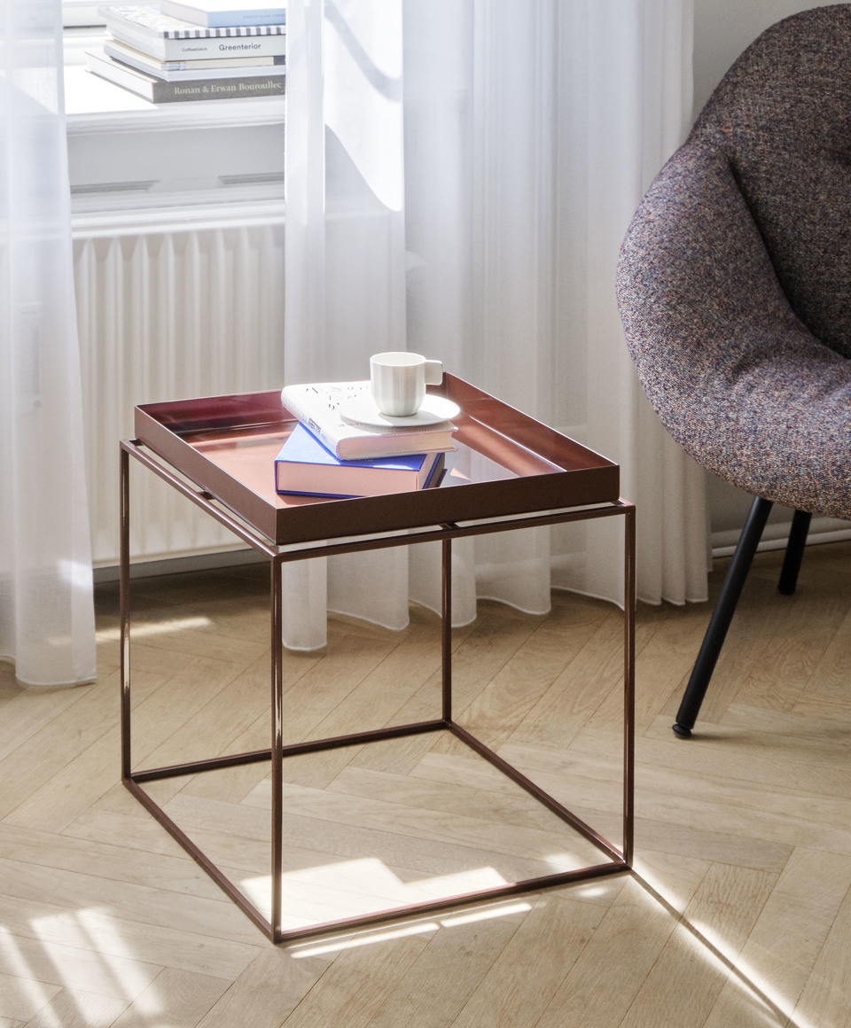 Hay Tray Table Side Table L Toffee