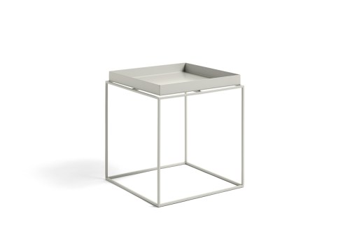 Hay Tray Table Side Table Warm Grey