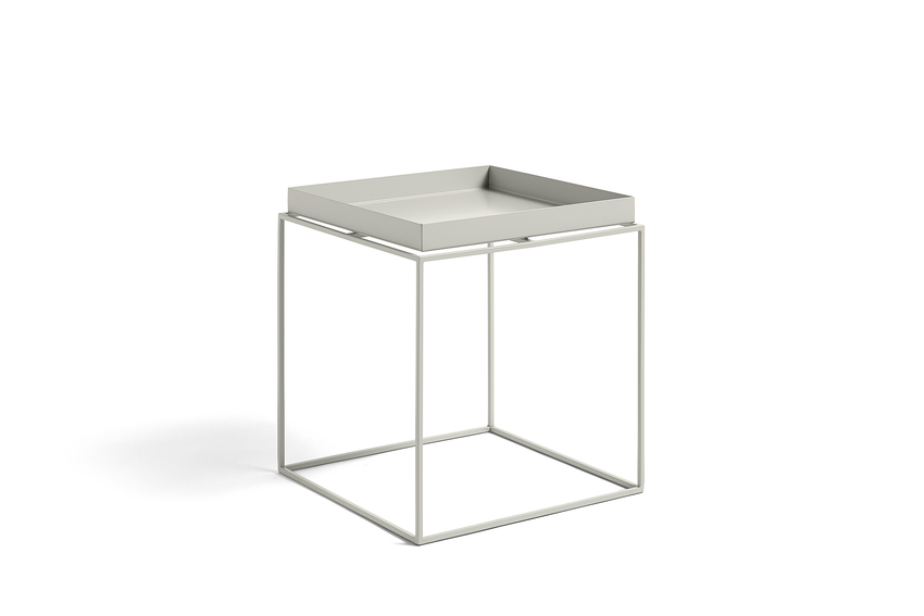 Hay Tray Table Side Table Warm Grey