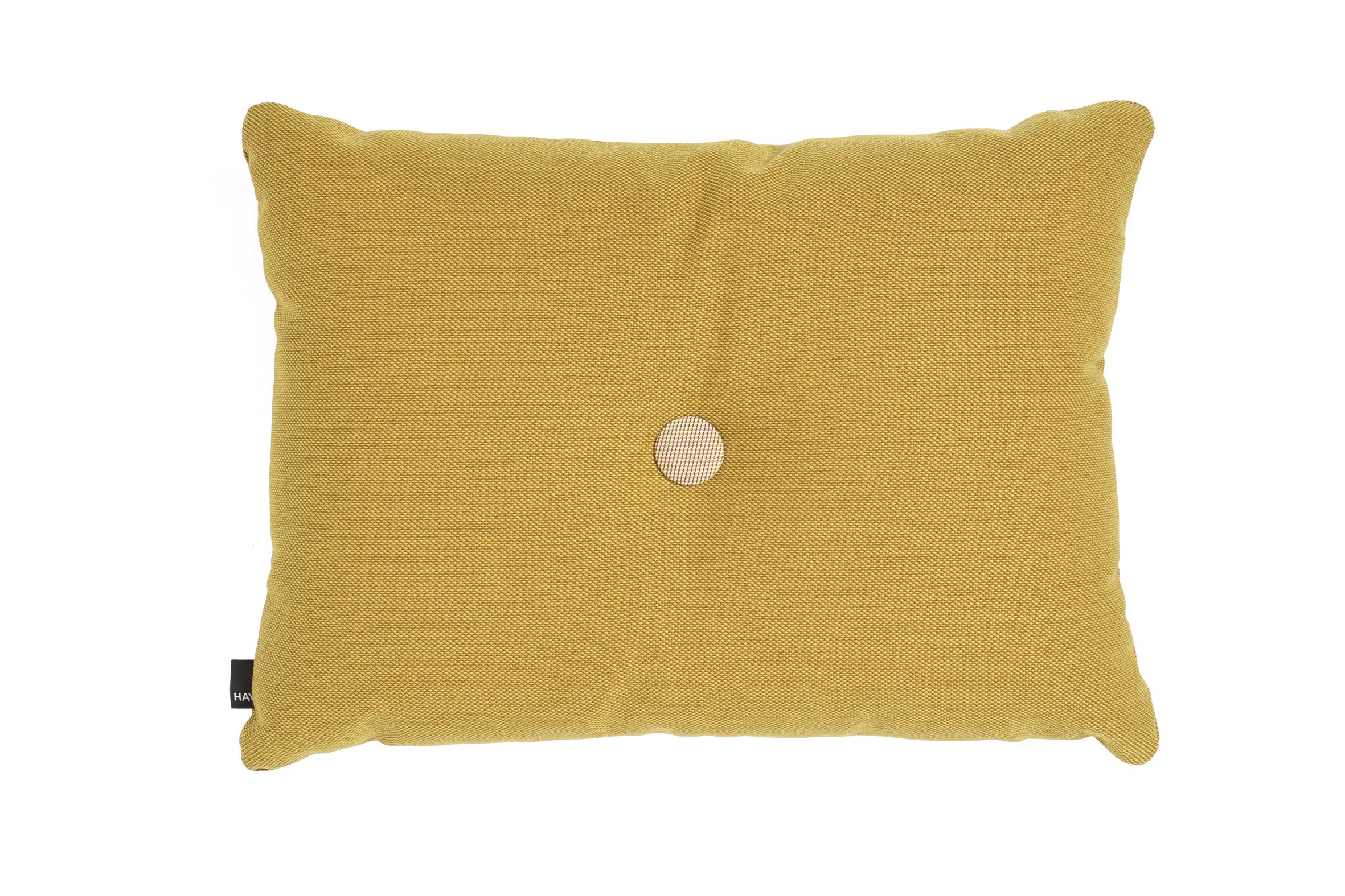 Dot cushion ST 1 dot golden yellow