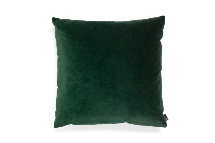 Eclectic cushion 50x50 dark green
