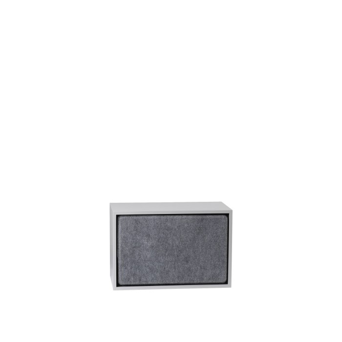 Stacked 2.0 acoustic panel large grey
