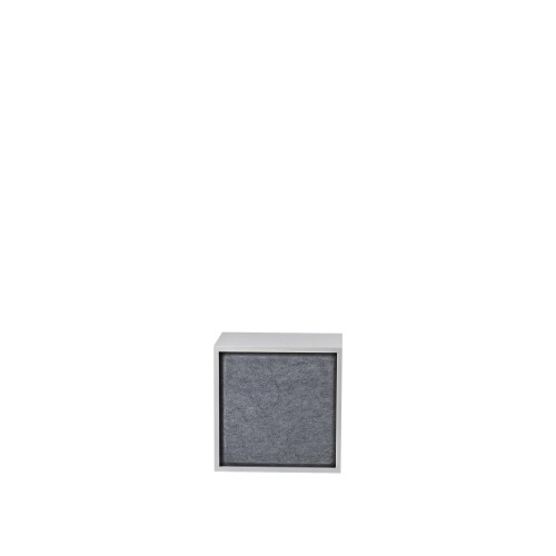 Stacked 2.0 acoustic panel medium grey