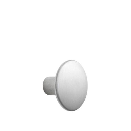 Dots metal medium Ø 3,9 cm aluminium