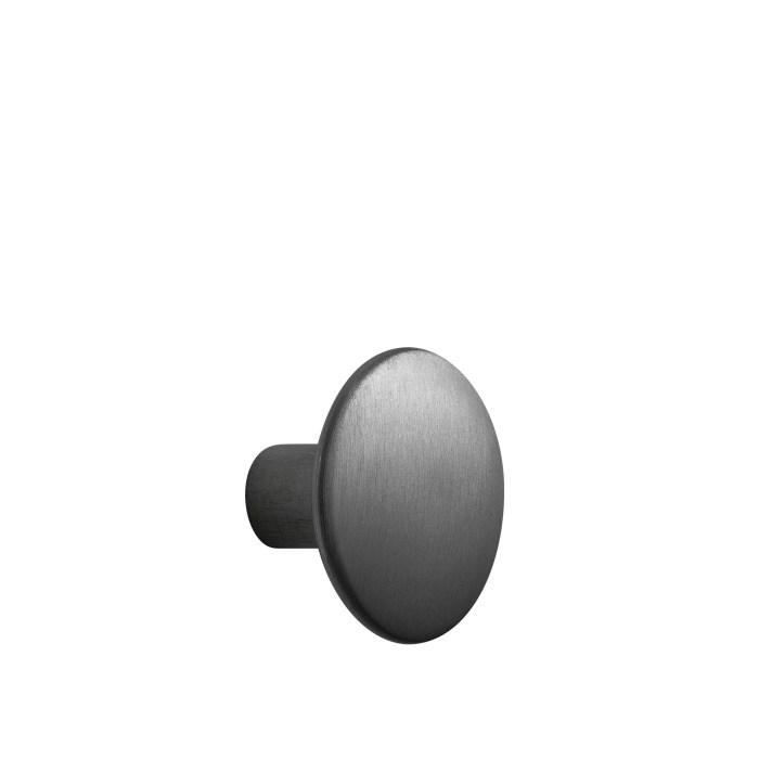 Dots metal medium Ø 3,9 cm black