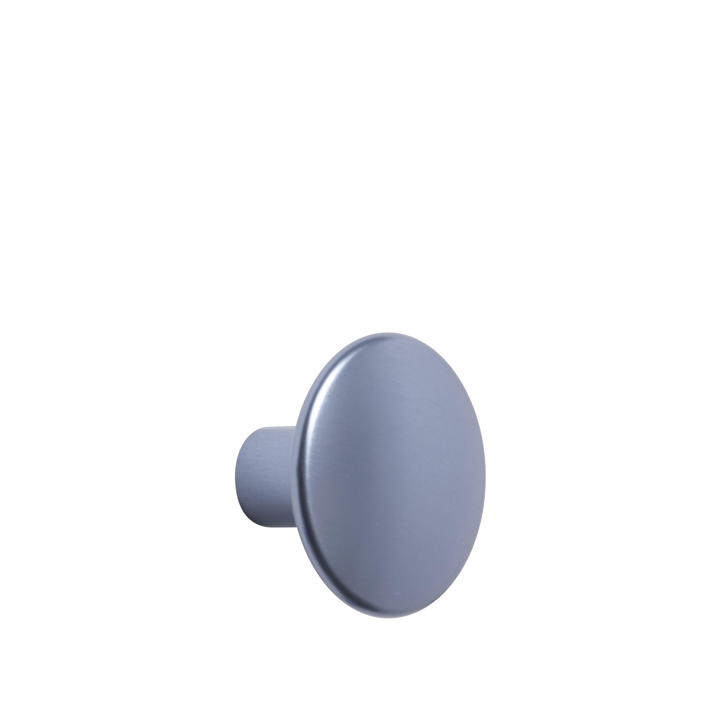 Dots metal medium Ø 3,9 cm pale blue