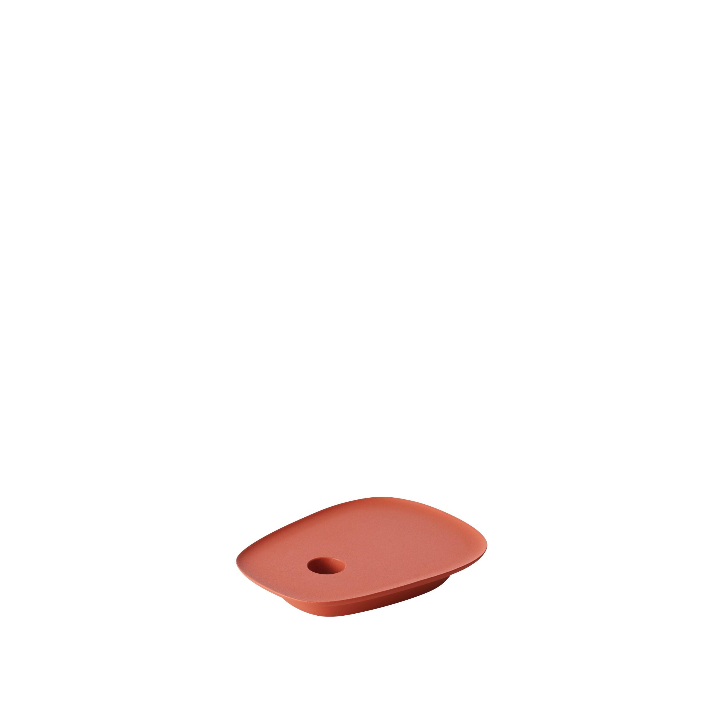 Float candleholder tangerine