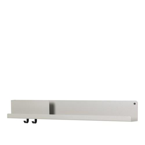 Folded shelf large grey 96cm