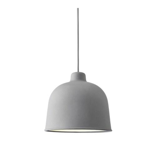 Grain lamp grey