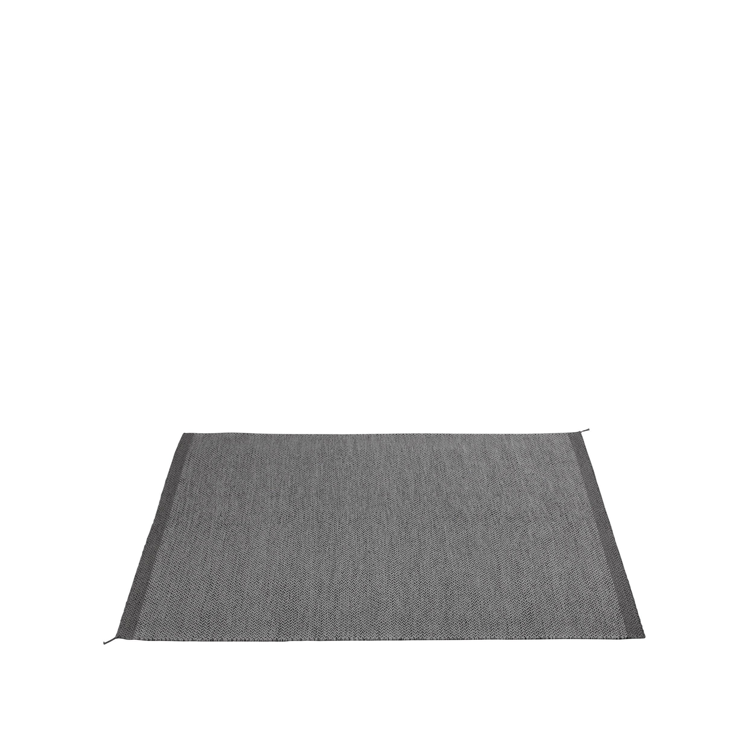 Ply rug 170 x 240 dark grey