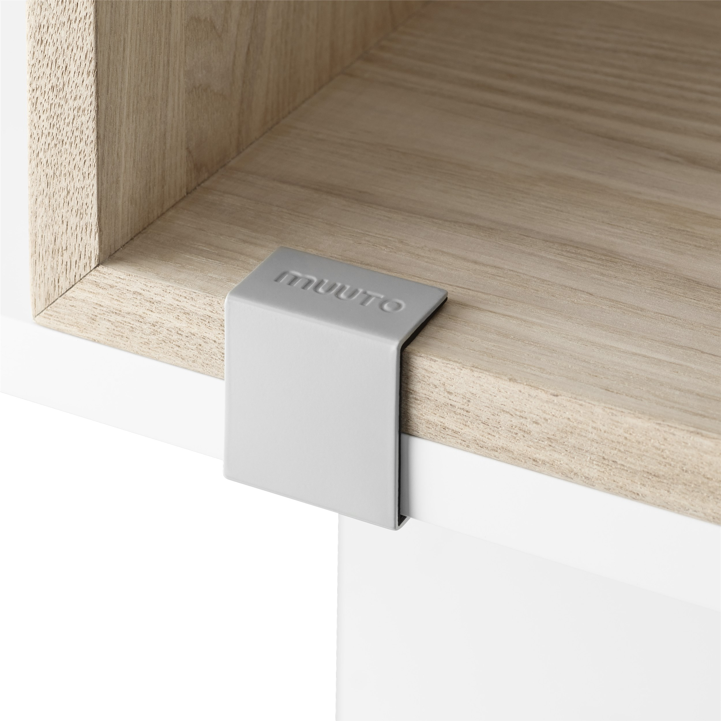 Muuto Stacked 2.0 Clips 5-pack Light Grey