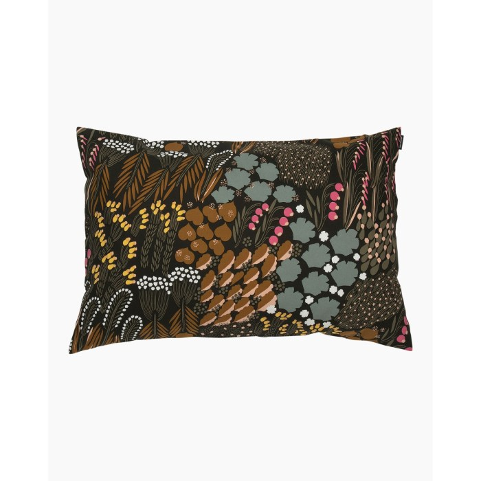 Marimekko Letto Cushion Cover 40x60 Brown