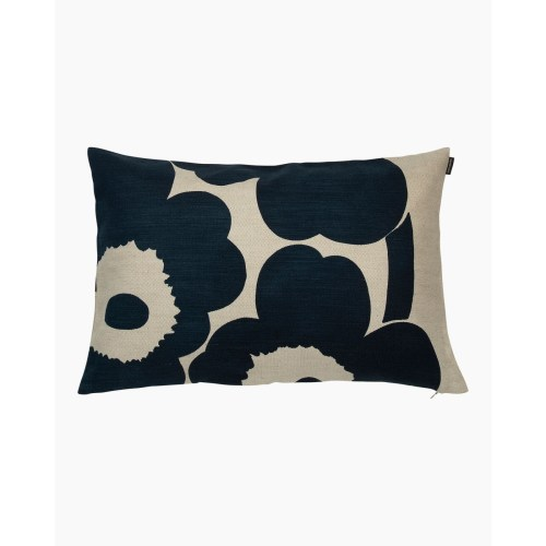 Marimekko Unikko Cushion Cover 40x60 Dark Blue