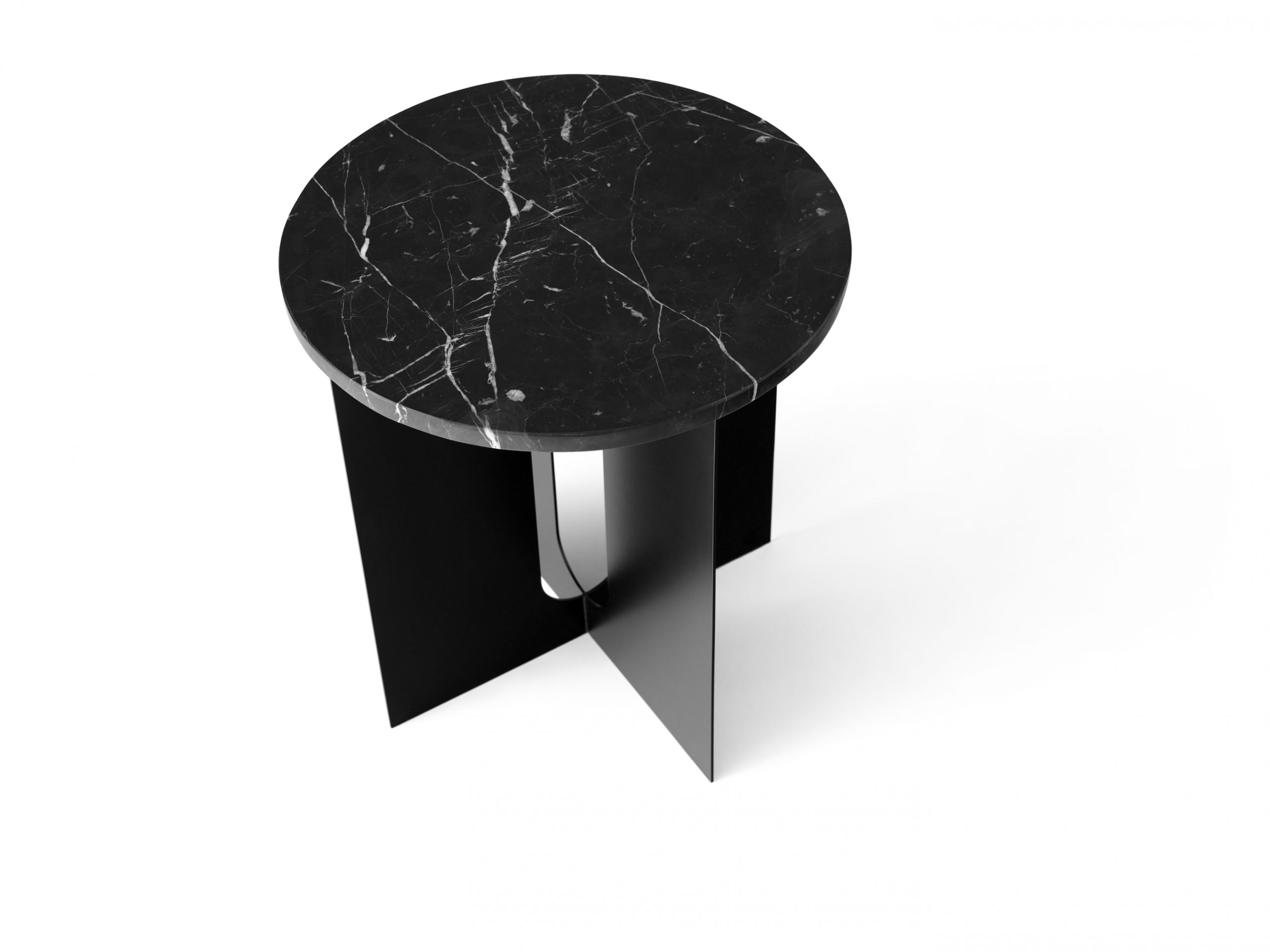 Menu Androgyne Table Top for Side Table Black