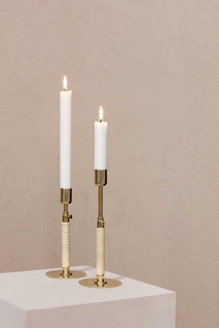 Menu Duca Candlehholoder Polished Brass