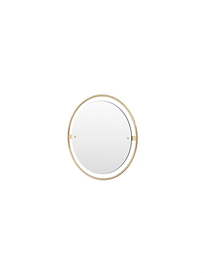 Menu Nimbus Mirror 60 Polished Brass
