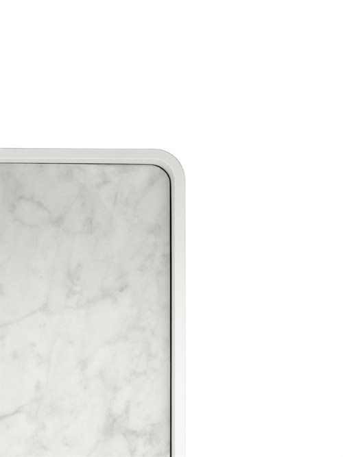 Menu Shower Tray Marble White