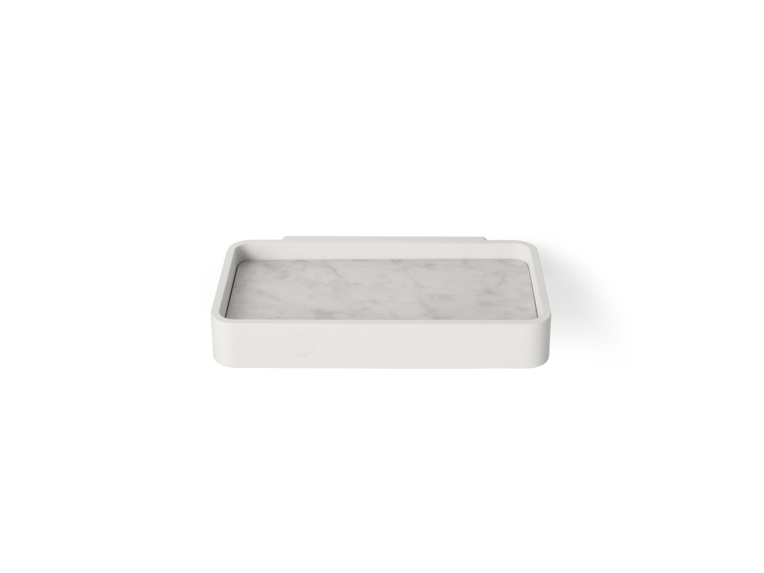 Menu Shower Tray Marble White