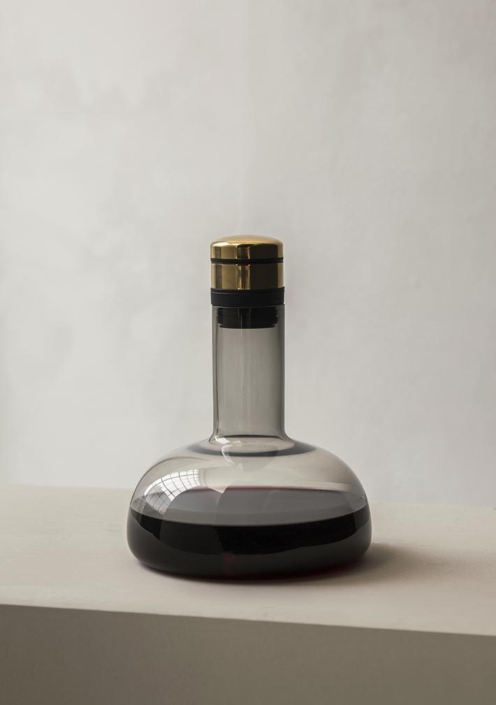 Menu Wine Breather Clear/Steel