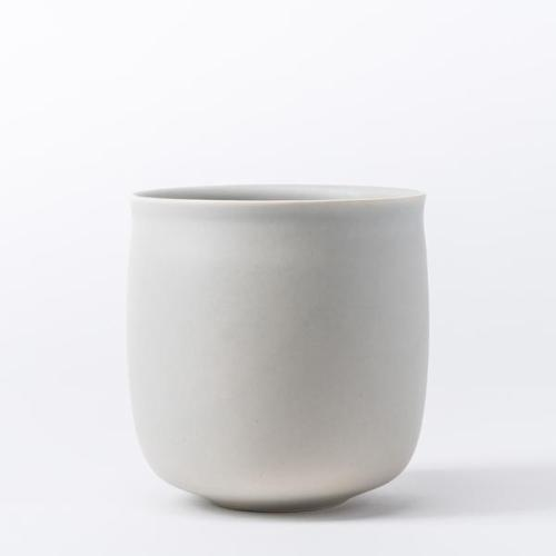 Raawii Alev Vase 01 Medium Misty Grey