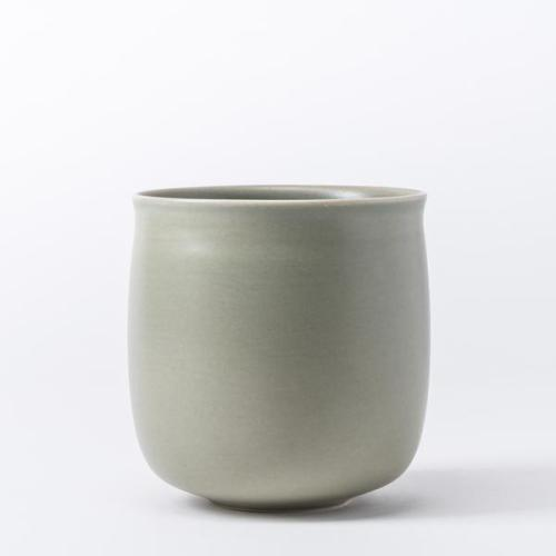 Raawii Alev Vase 01 Medium Olive Green