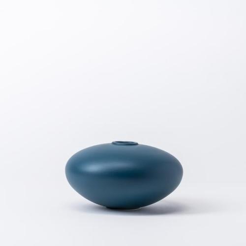 Raawii Alev Vase 01 Small Mallard Blue