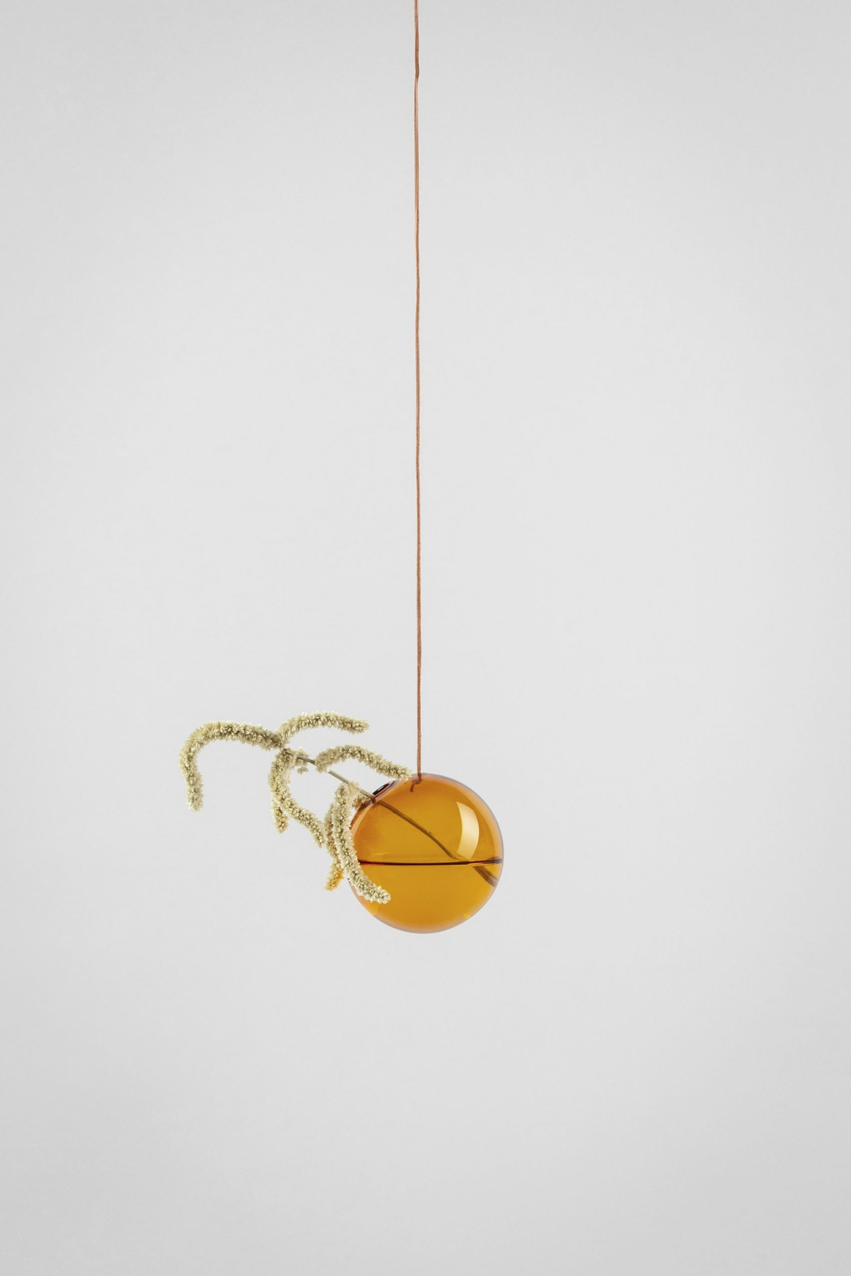 Studio About Bubble Hanging Vase S Amber