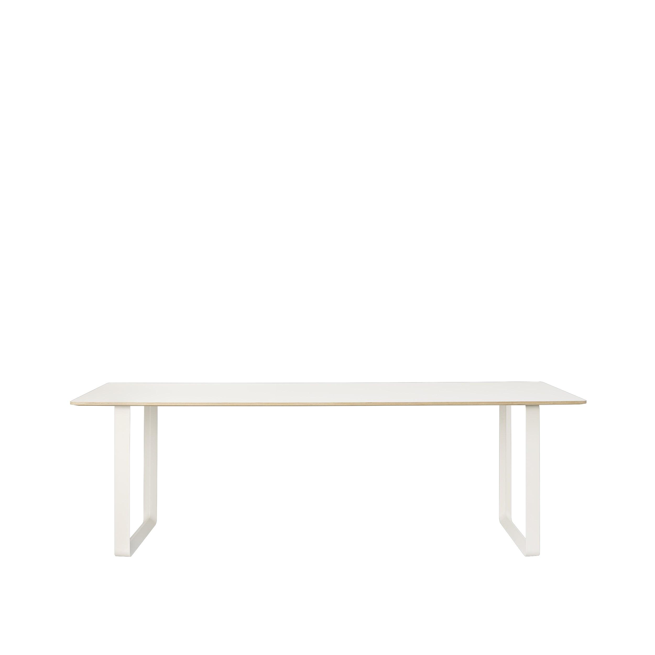Muuto 70/70 Table 255x108 White Laminate