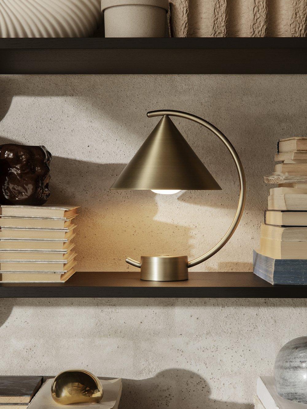 Ferm Living Meridian Lamp Brass