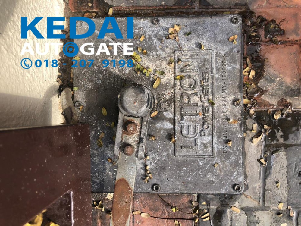 medium resolution of we do underground swing auto gate service repair auto gate spare parts are available in klang valley
