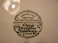 English Ironstone Tableware  2 pieces  SOLD | KedaiUK