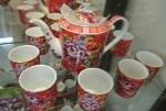 台湾客家花布柄の茶器を買うなら陶器老街の鶯歌がおすすめ!