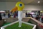 台北駅の鳥人間が消えた!?鳥人間についての秘密と鳥人間までの行き方!