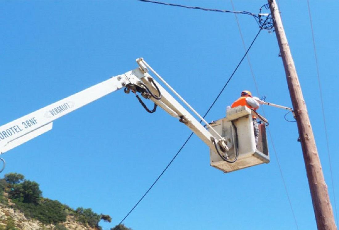 Αναβάθμιση ηλεκτροφωτισμού και στις επτά Περιφερειακές Ενότητες